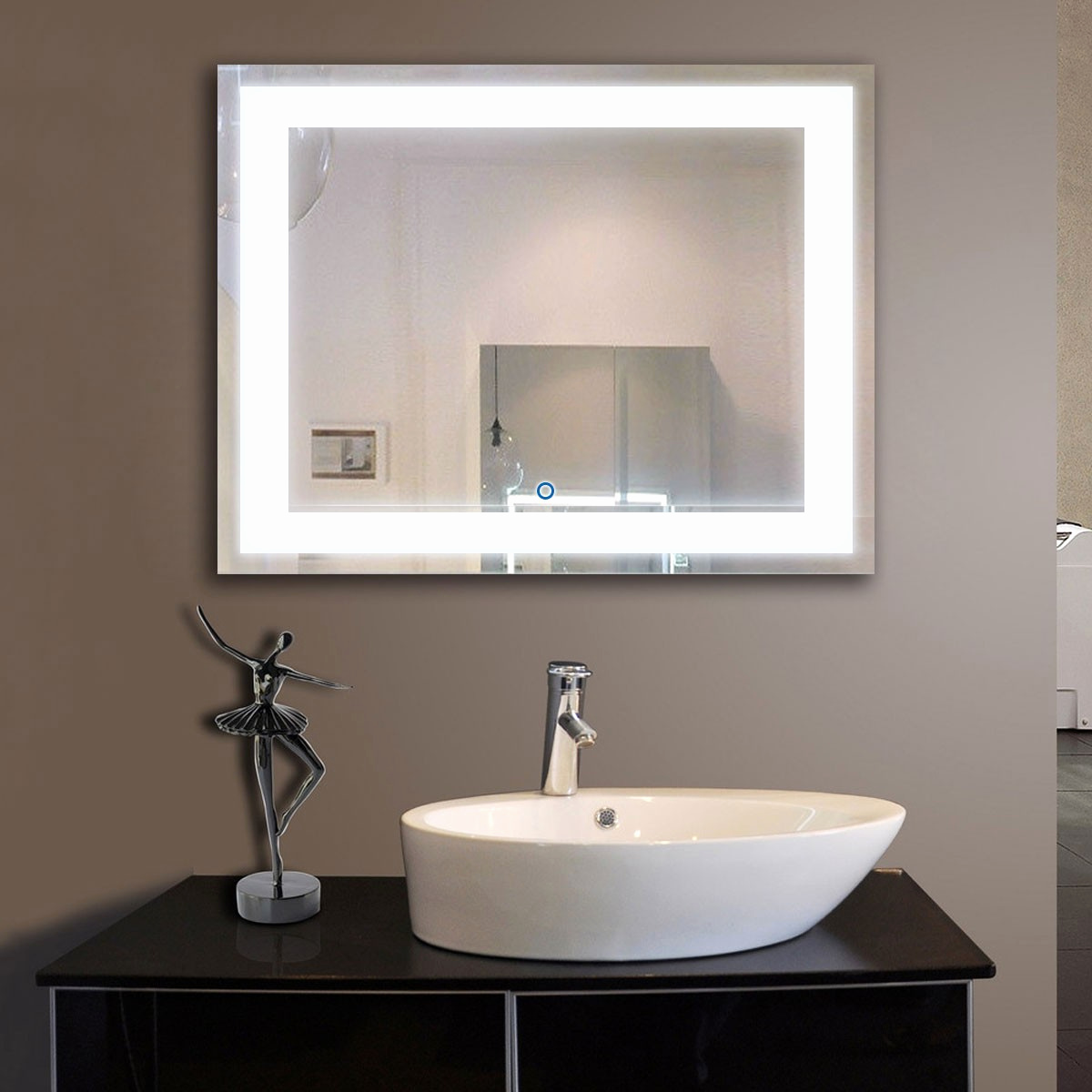 Picture of: Great LED Vanity Mirror