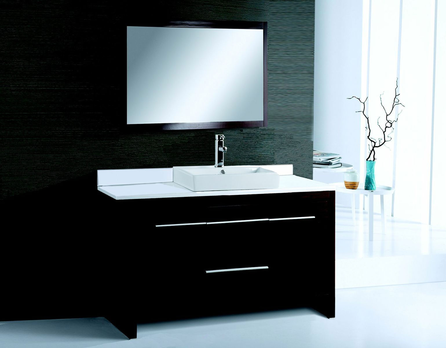 Image of: Great Modern Bathroom Vanities