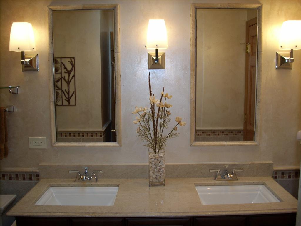 Image of: Great Vanity Wall Mirror Ideas
