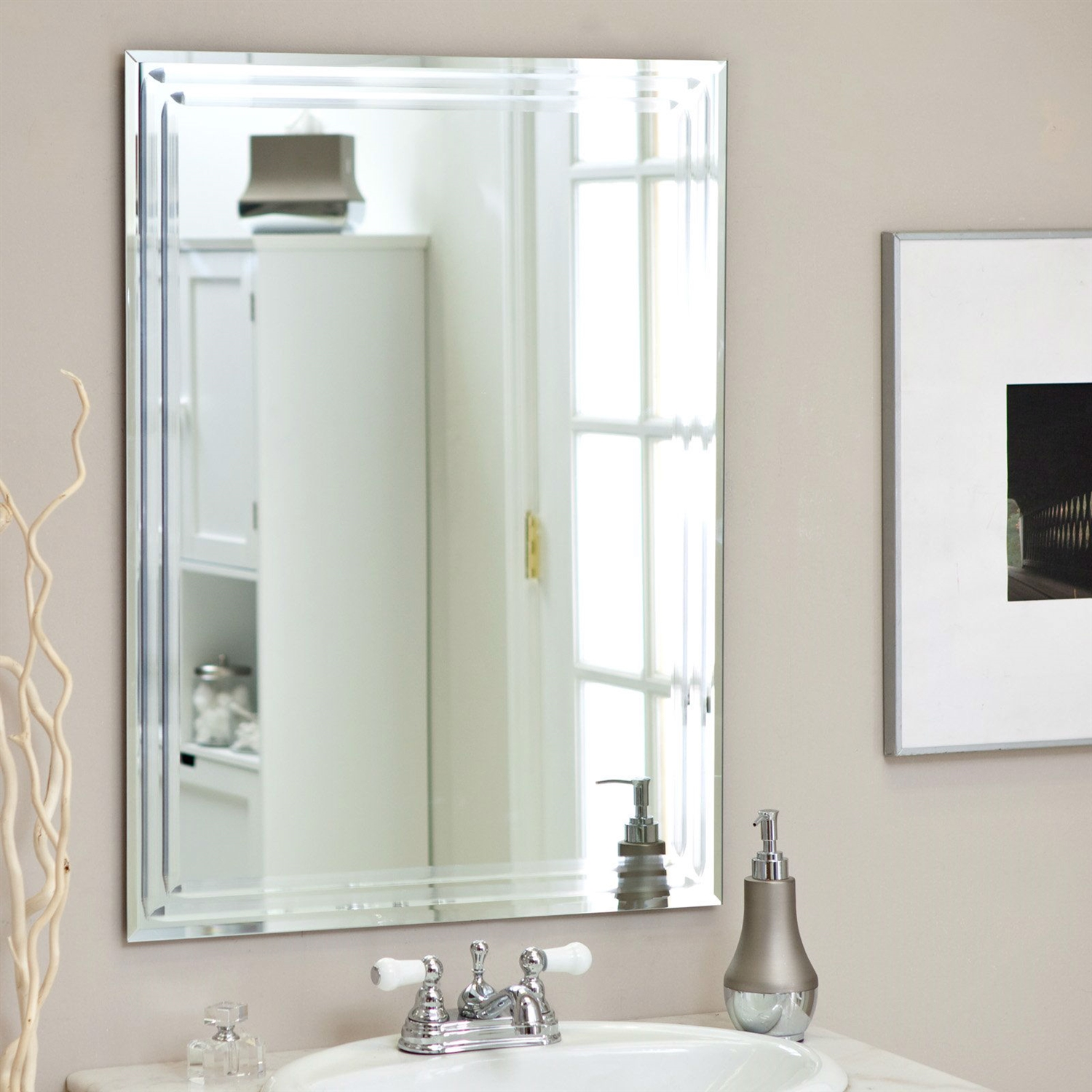 Picture of: Great Vanity Wall Mirror