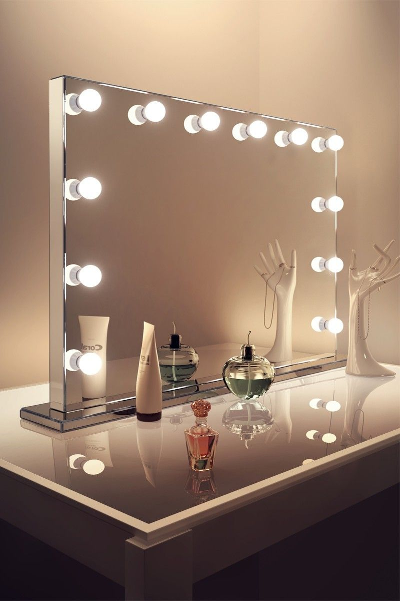 Picture of: Hollywood Vanity Mirror Ideas