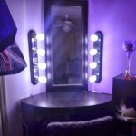How To Build A Makeup Vanity With Lights