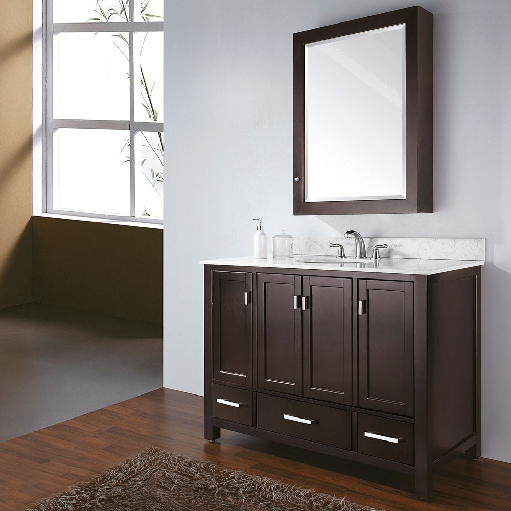 Image of: Impressive Double Vanity Bathroom