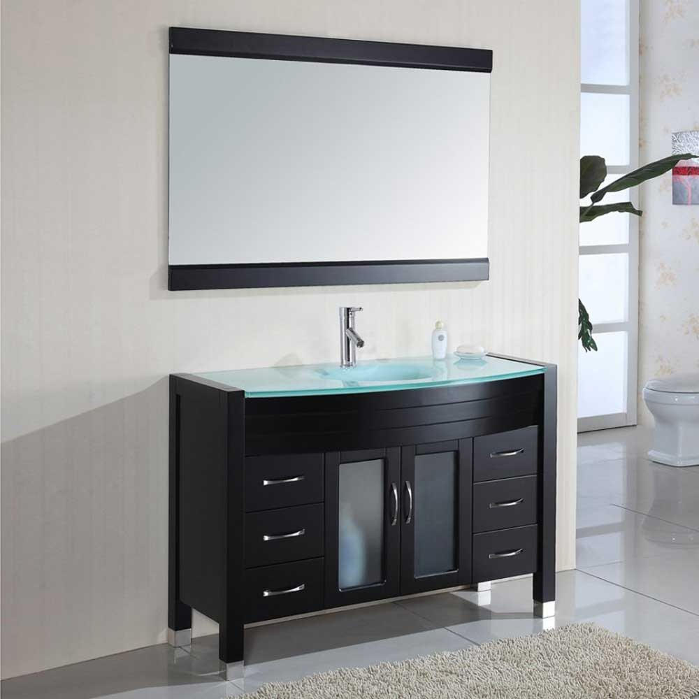 Image of: Lowes Small Double Vanity