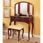 Mahogany Bedroom Vanity Mirror