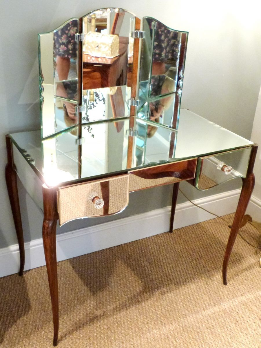 Image of: Mirrored Vanity Table Pier One