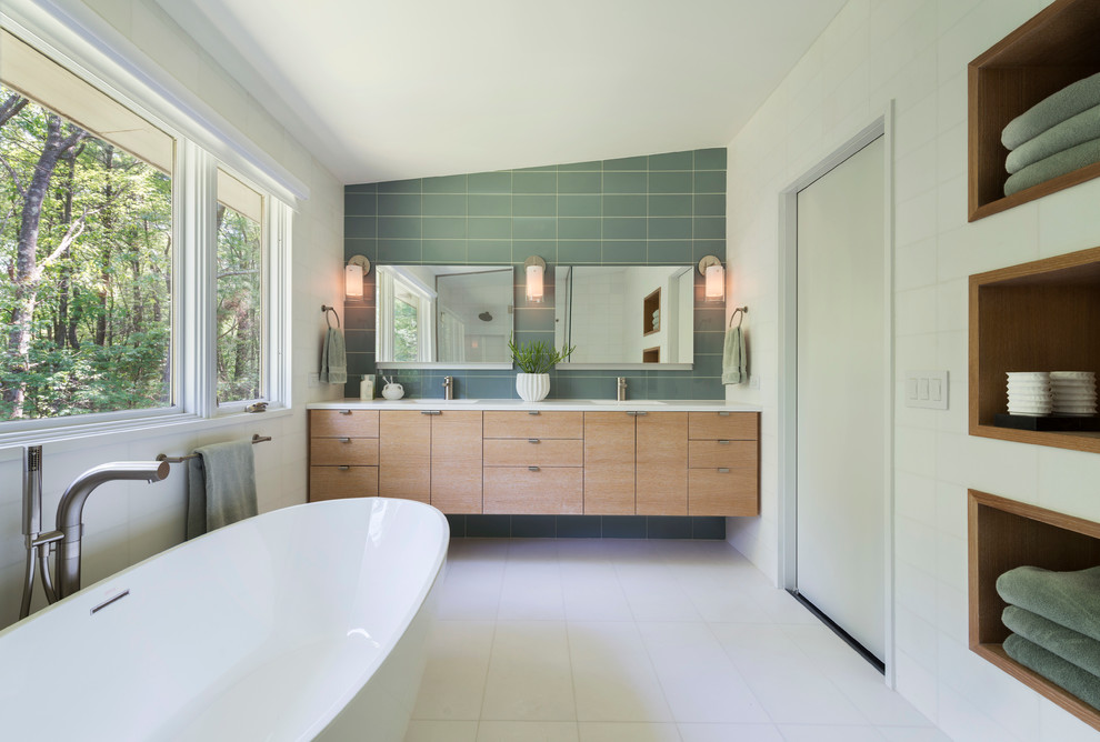 Image of: Modern Bathroom Vanities Design