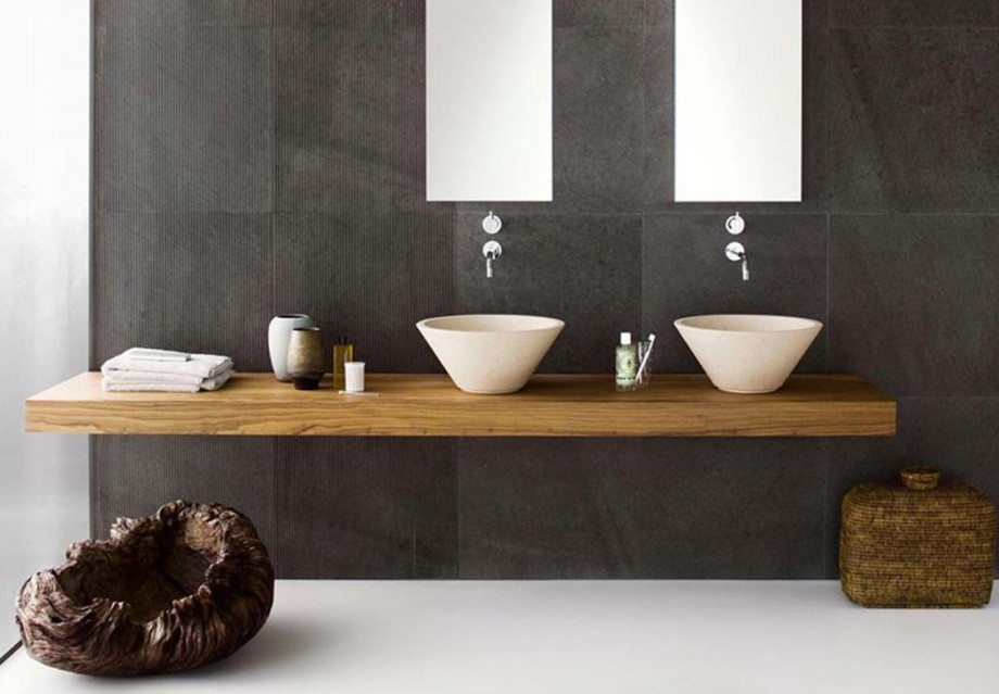 Image of: Modern Bathroom Vanities Style