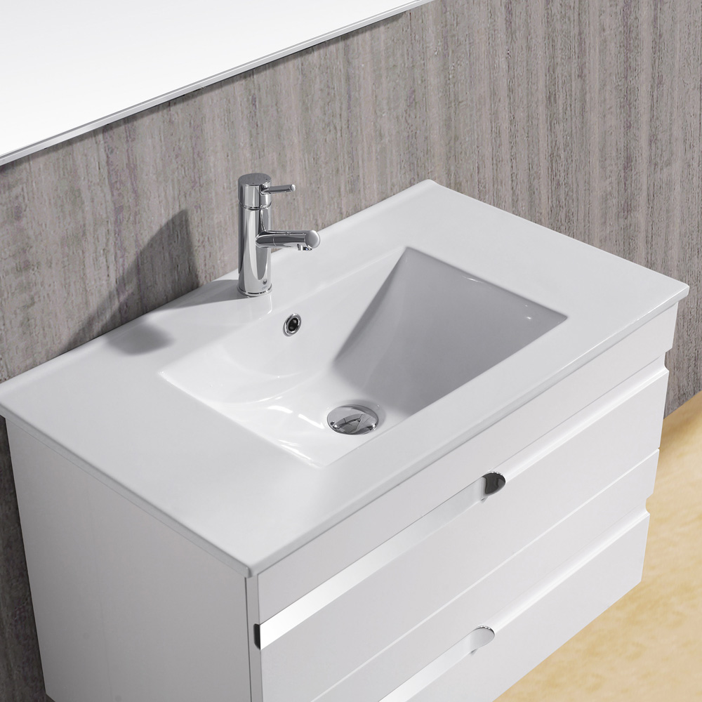 Picture of: Modern Bathroom Vanity with Sink