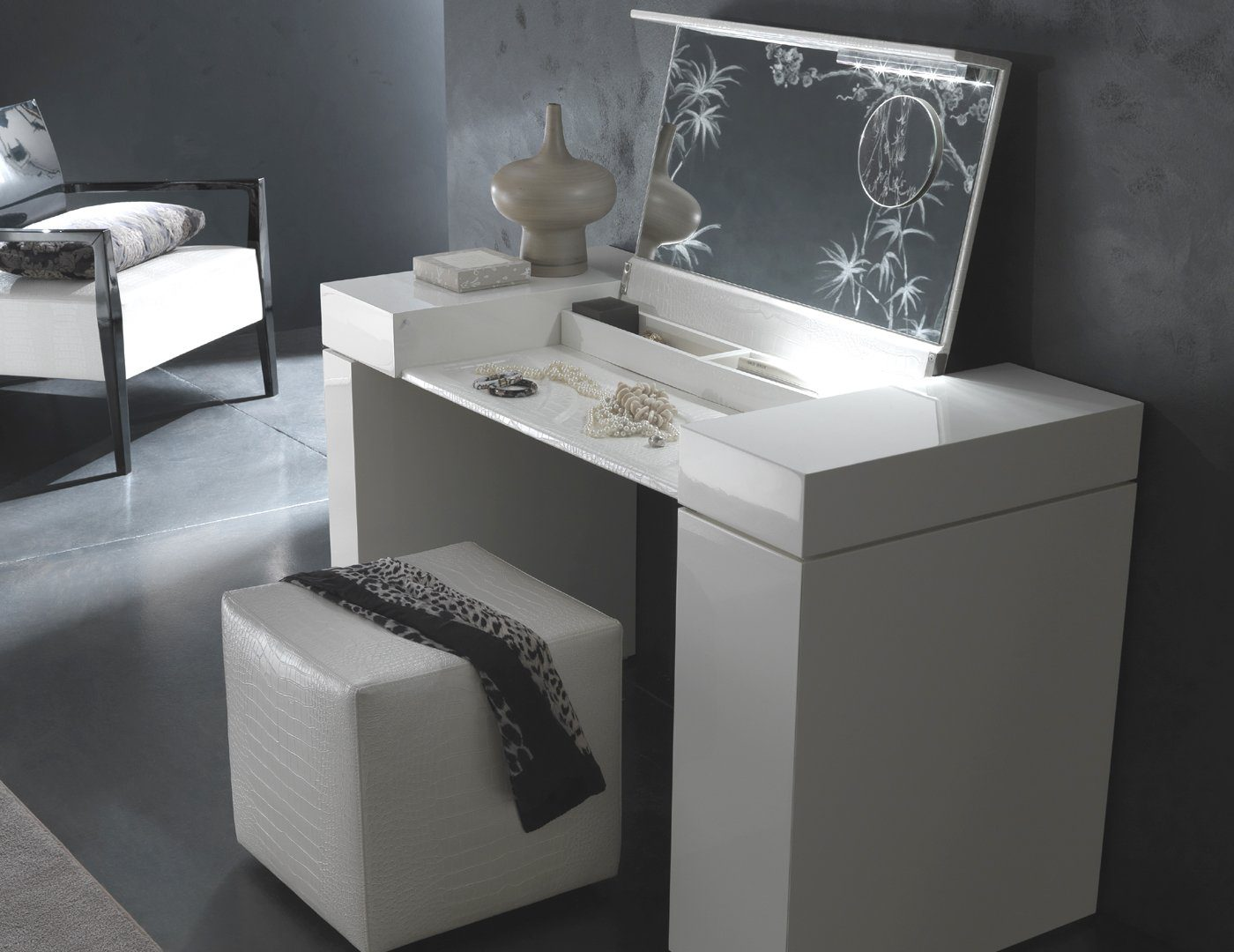Picture of: Modern Bedroom Vanity Table Ideas