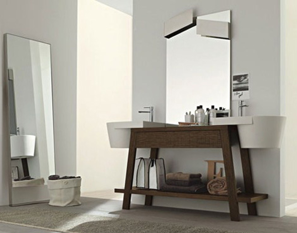 Picture of: Modern Bedroom Vanity with Drawers
