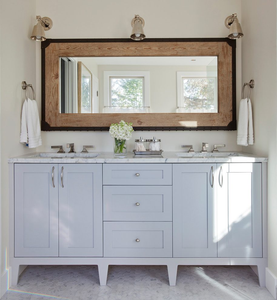 Image of: Nice Double Vanity Mirror