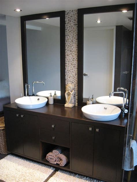 Image of: Original Double Vanity Mirror
