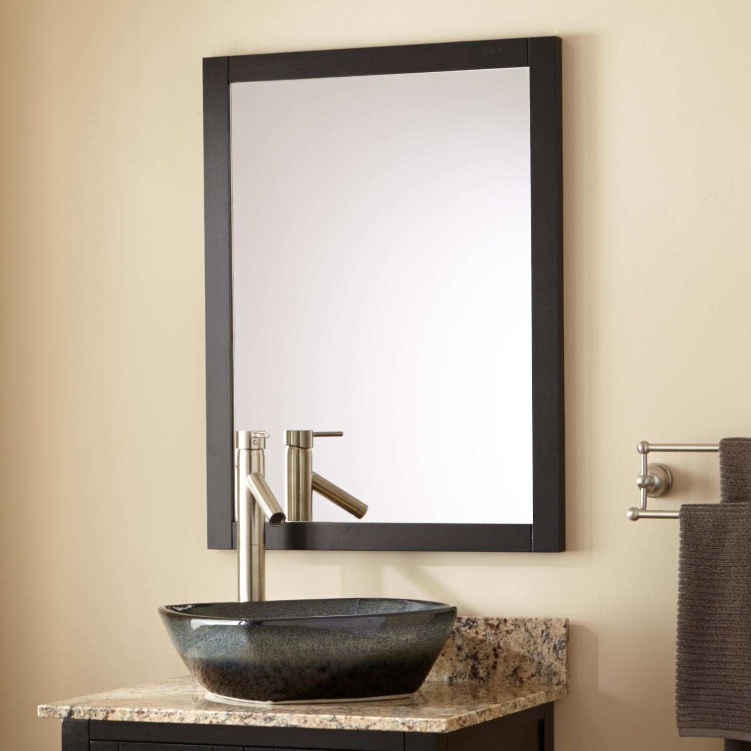 Picture of: Perfect Black Vanity Mirror