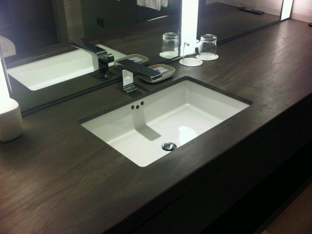 Picture of: Polished Bathroom Vanity Tops