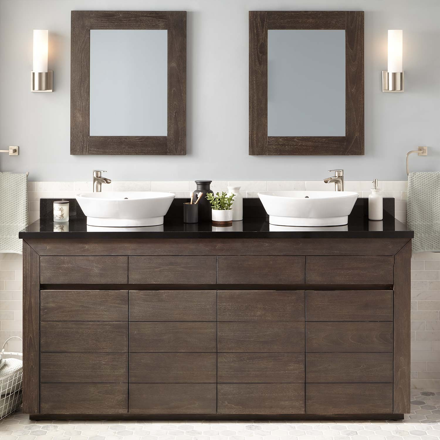Picture of: Popular 72 Double Sink Vanity