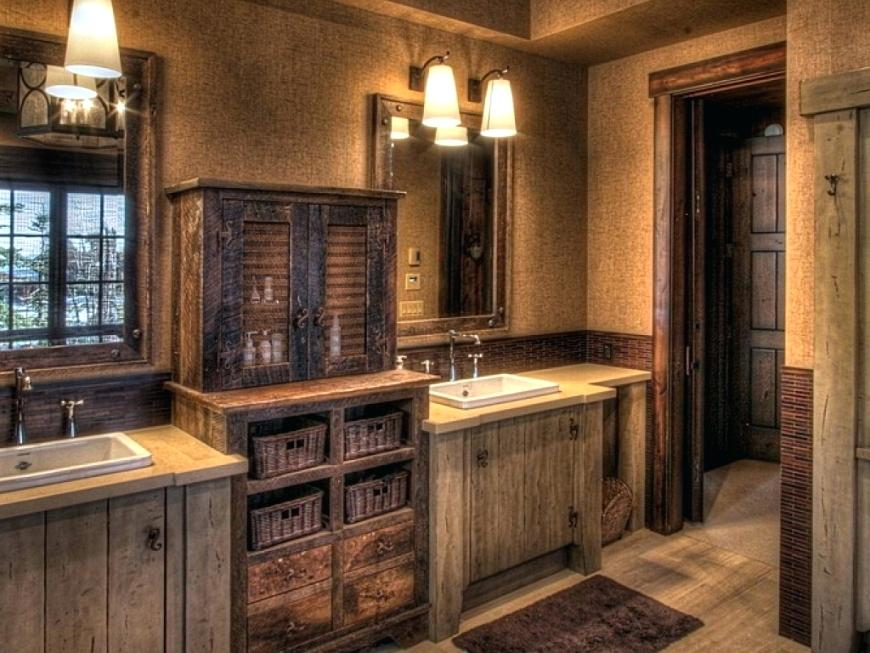 Image of: Rustic Bathroom Vanities 48