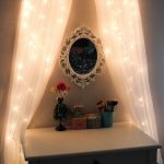 Small Bedroom Vanity With Lights