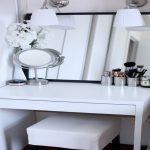 Small Bedroom Vanity With Lights Photos