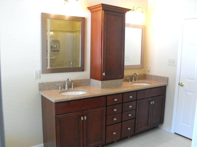 Image of: Small Double Sink Vanity Pros