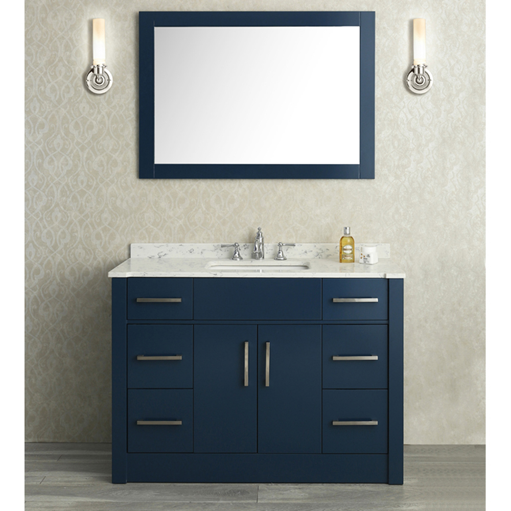 Image of: Small Double Vanity Ideas
