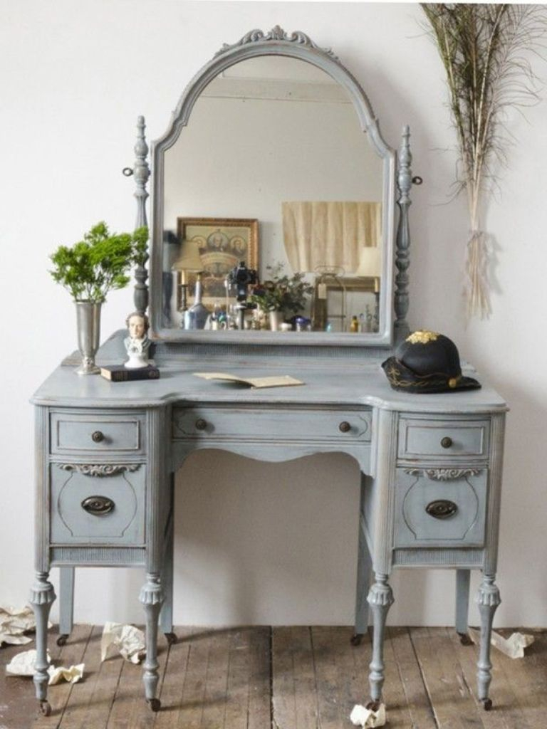 Picture of: Soft Bedroom Vanity Mirror