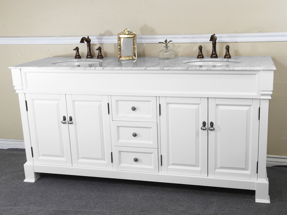 Image of: Traditional Double Vanity