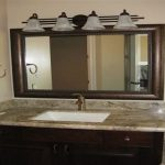 Unusual Double Vanity Mirror