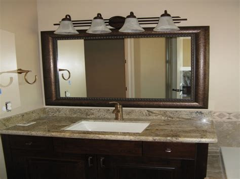 Image of: Unusual Double Vanity Mirror