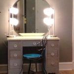 Unusual Vanity Table With Lights