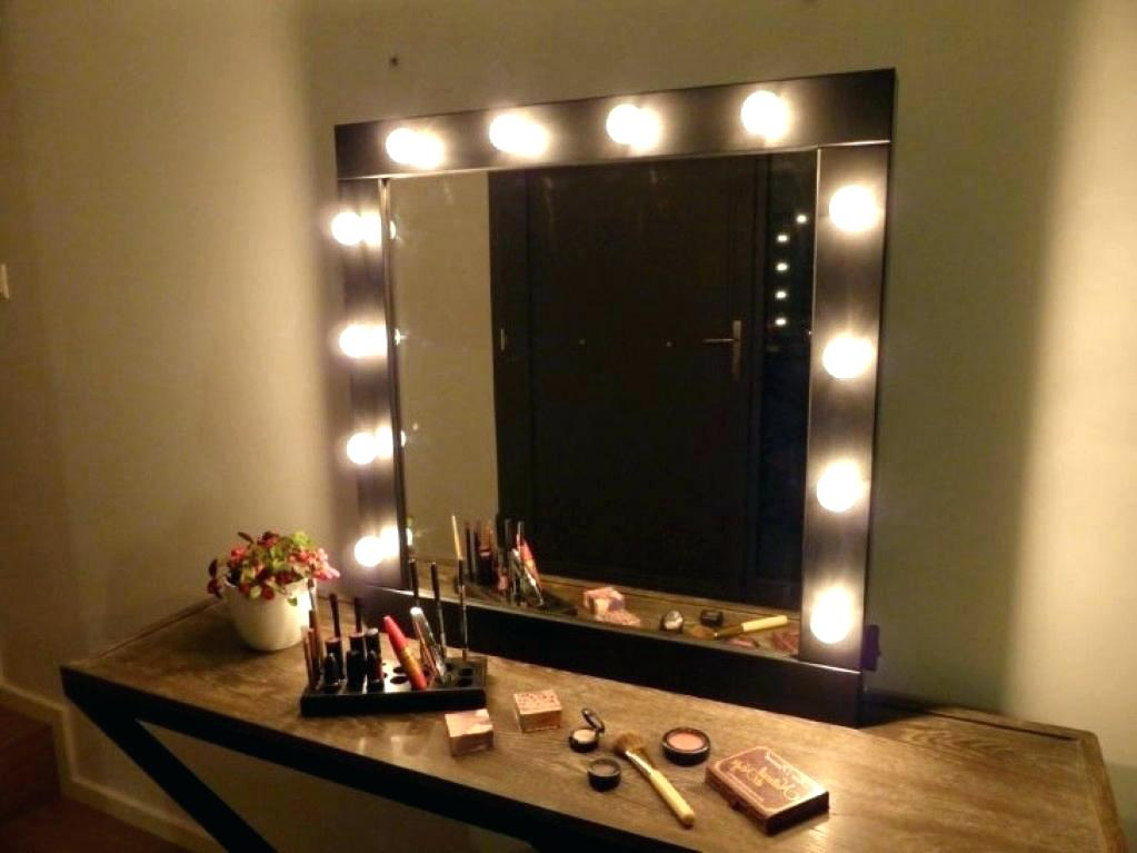 Picture of: Vanities for Bedroom with Lights Design