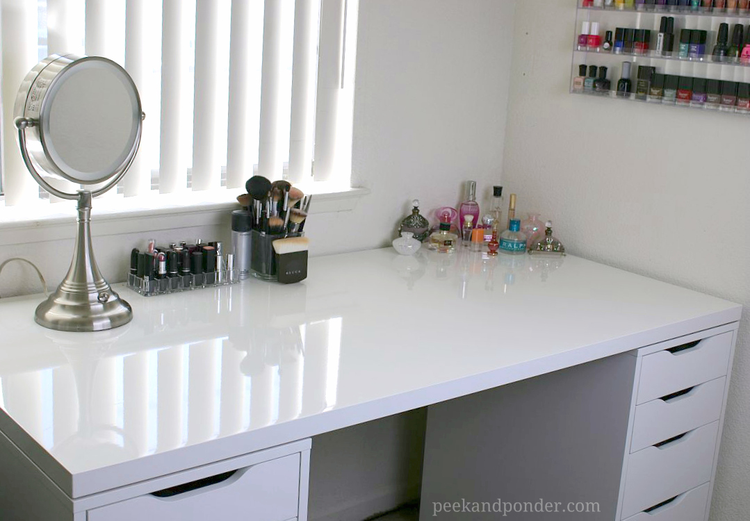 Picture of: Vanities for Bedroom with Lights IKEA