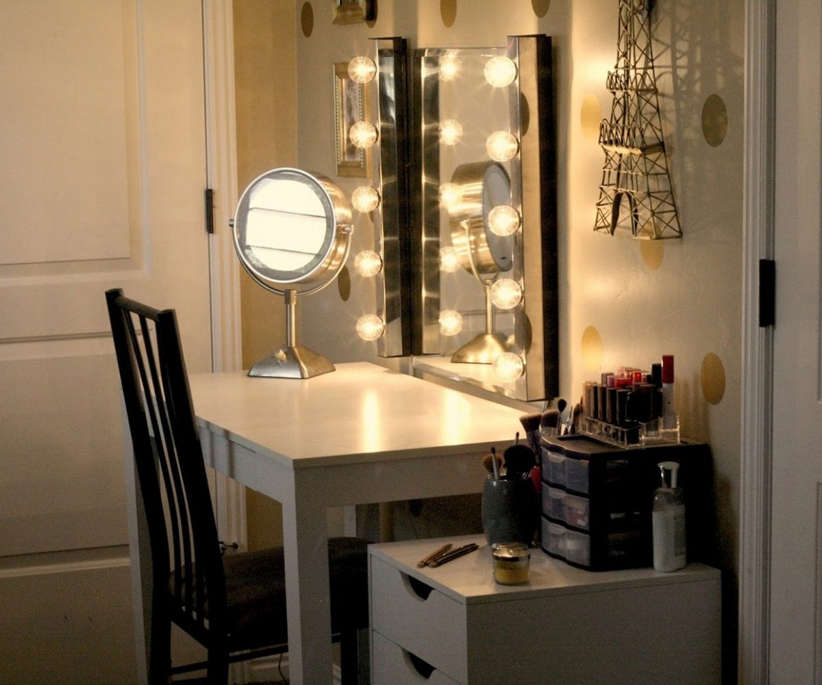 Image of: Vanity Lights Ikea Modern
