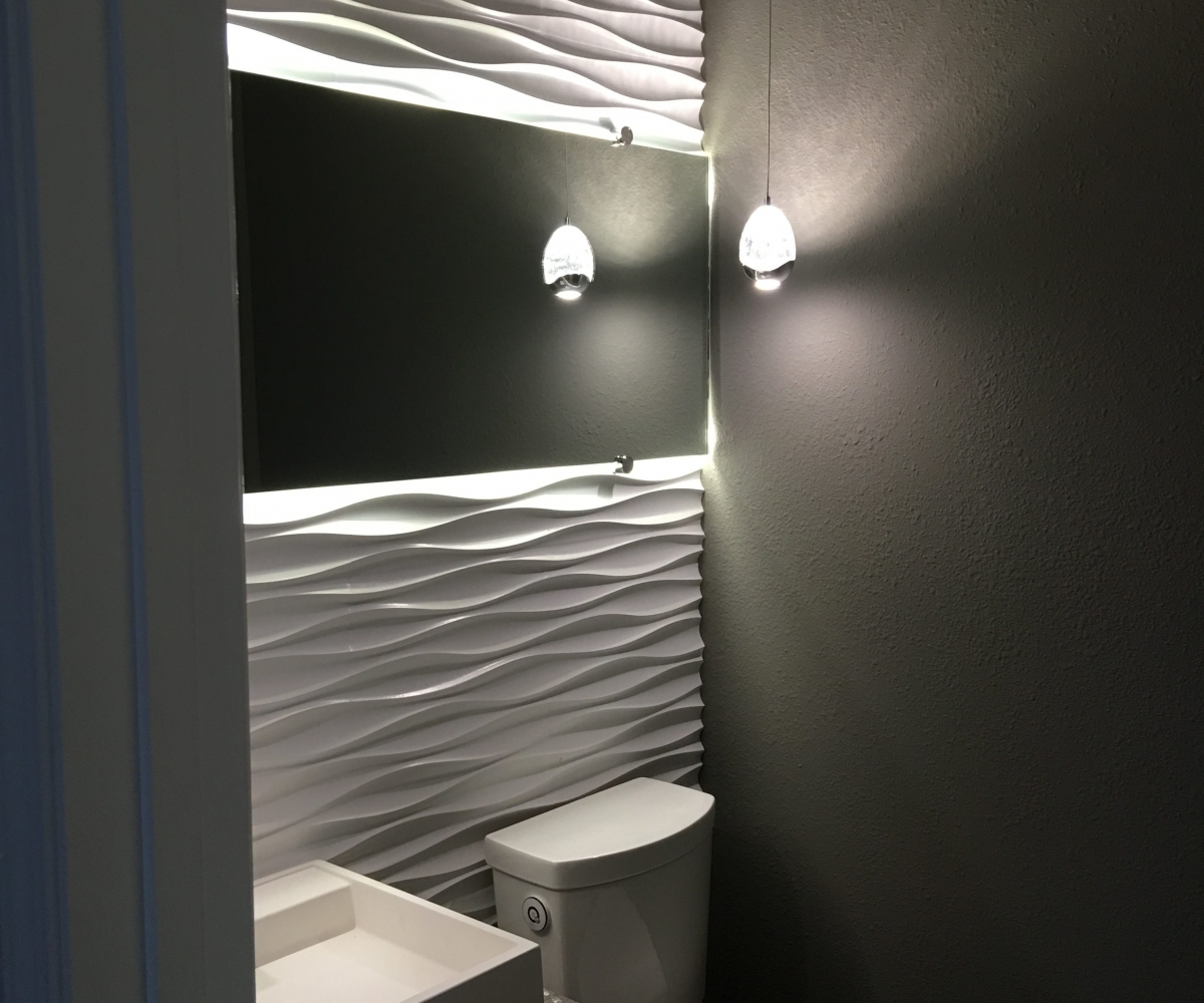 Picture of: Vanity Mirror With Led Lights Awesome