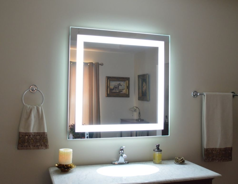 Picture of: Vanity Mirror With Led Lights Creative