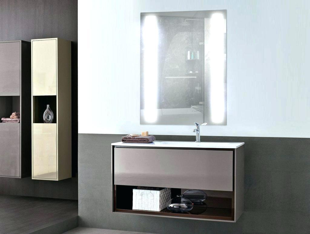 Image of: Vanity Mirror With Led Lights Design