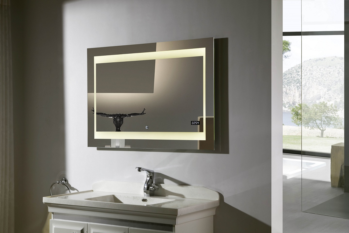 Picture of: Vanity Mirror With Led Lights Rectangle