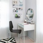 Vanity Table With Lighted Mirror Small