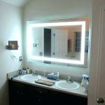 Vanity Table With Mirror Led