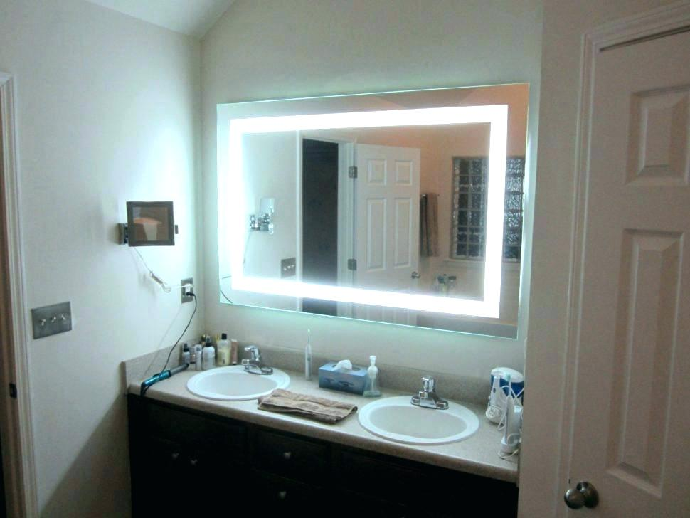 Picture of: Vanity Table with Mirror Led