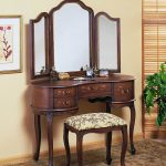 Vanity With Mirror Oval