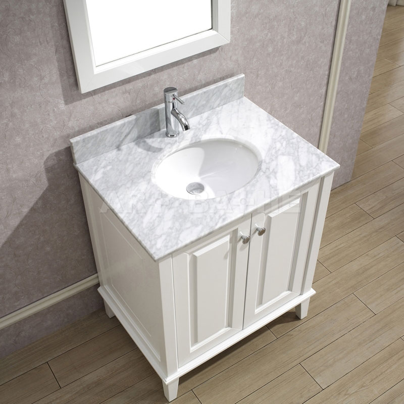 Picture of: White Bathroom Vanity Tops