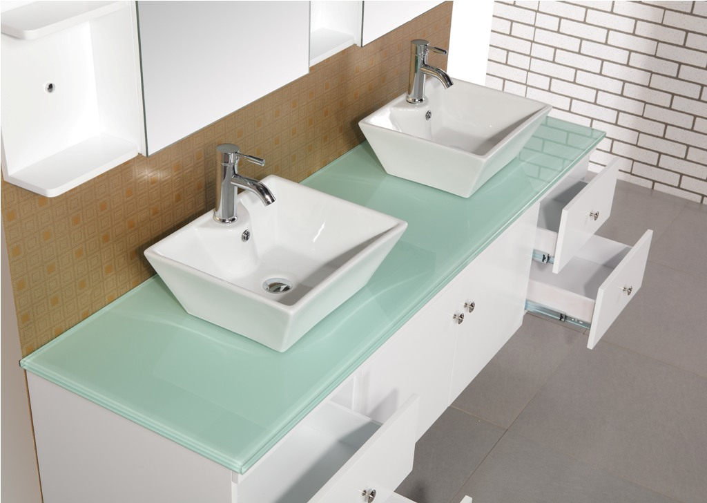 Image of: 48 Inch Double Sink Vanity Top