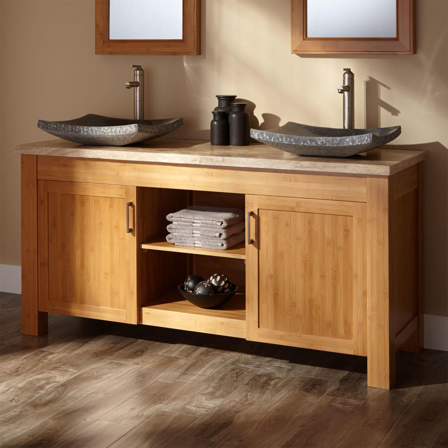 Image of: 60 Inch Double Sink Vanity Top