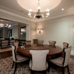 60 Inch Round Dining Table Modern