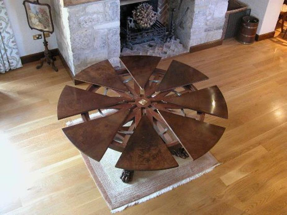 Picture of: Amazing expandable round dining table price