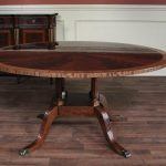 Antique 60 Inch Round Dining Table