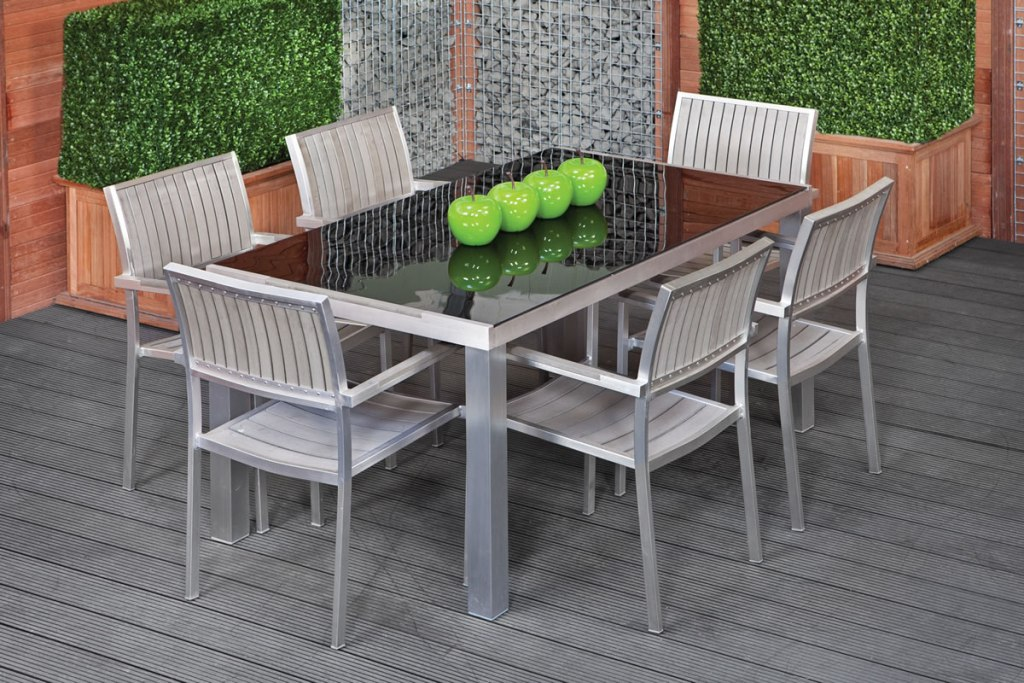 Image of: Awesome Rectangular Patio Table
