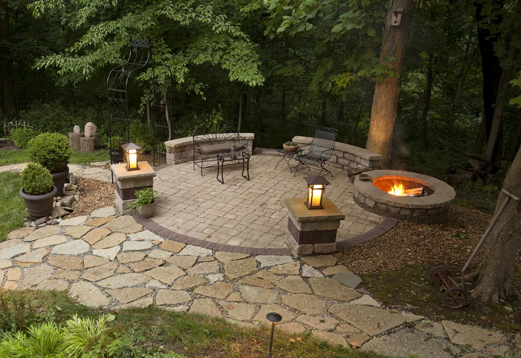 Picture of: patio designs with fire pit – backyard patio ideas with fire pit fire pit design ideas
