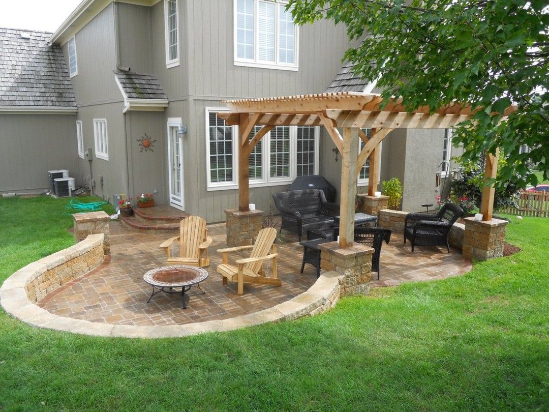 Picture of: Backyard Patio Ideas DIY